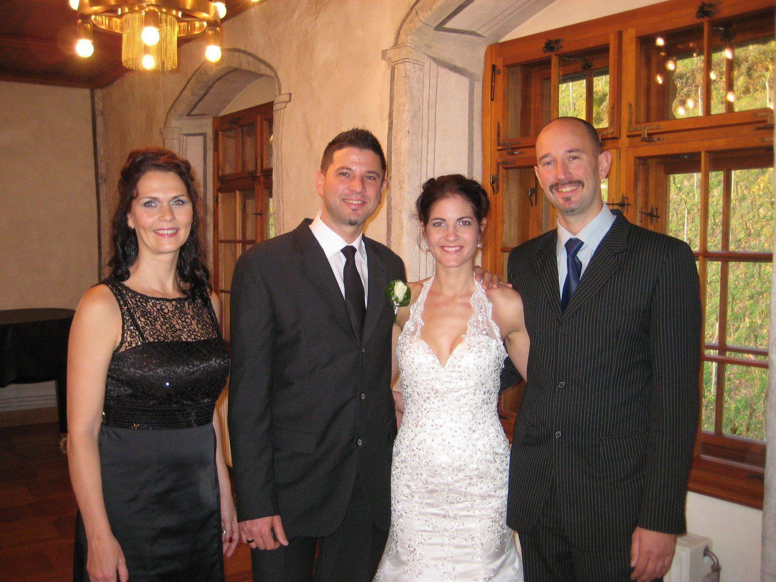 Andrea Starz und Daniel Wasler haben geheiratet.