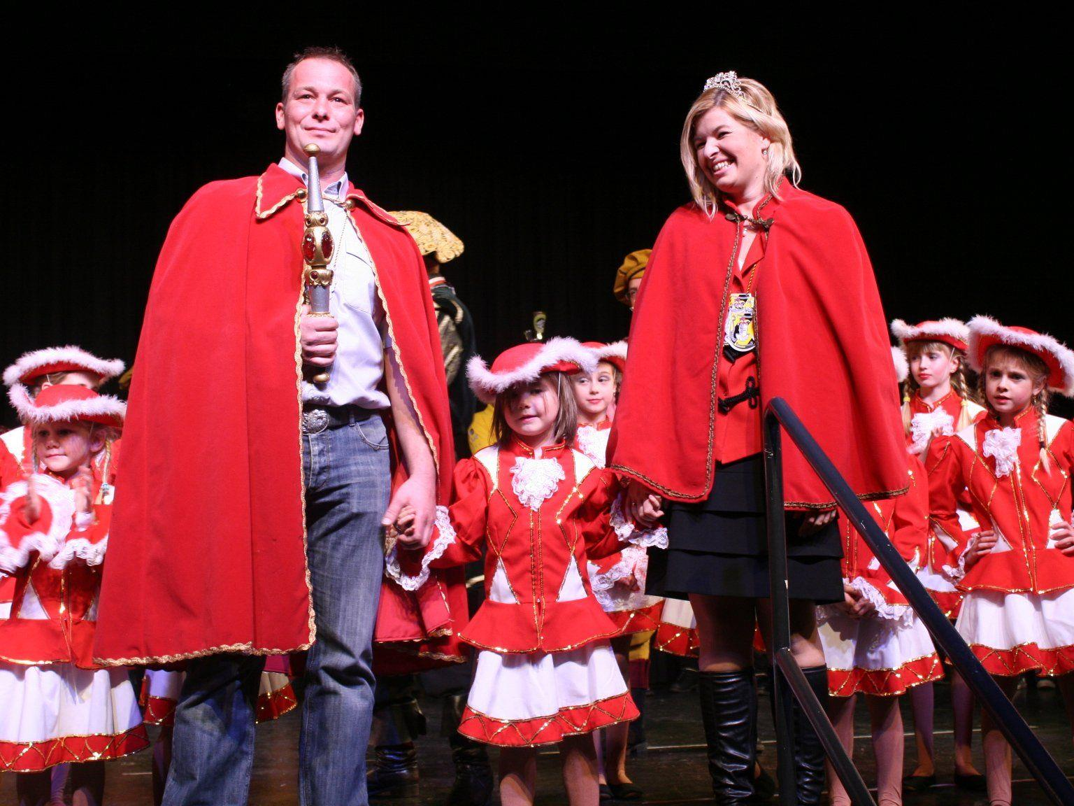 Prinezssin Sarah und Prinz Markus sind die neuen Faschingsprinzen
