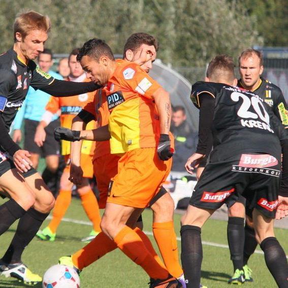 Philipp Netzer und Co. wollen auch im letzten Heimspiel des Jahres die Erfolgsserie fortsetzen.
