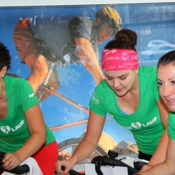 Drei Prominente für den guten Zweck unterwegs: Gabi Marte, Verena Eugster und Sabine Reiner.