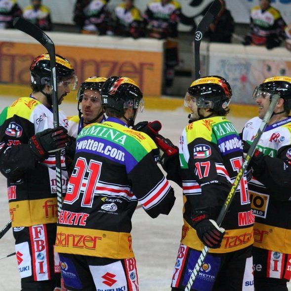 Zweimal jubeln wollen die Cracks der VEU Feldkirch in den Heimspielen gegen Klubs aus dem Südtirol.