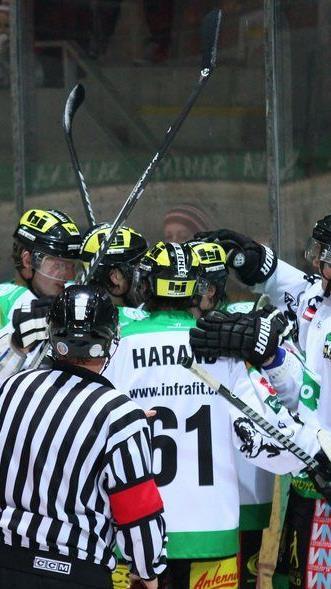 Der EHC Lustenau trifft im Topspiel in der Rheinhalle auf Eppan und will jubeln.