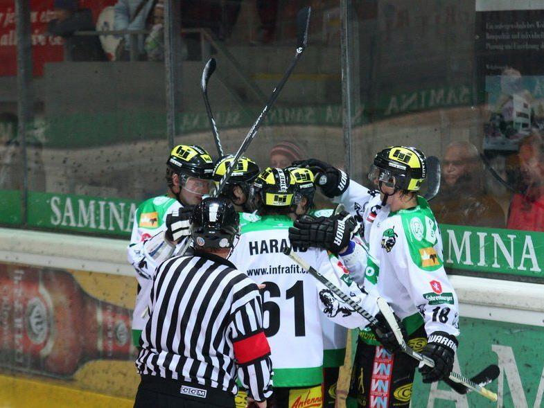 EHC Lustenau gewann das Spitzenspiel gegen Eppan in der Overtime mit 3:2.