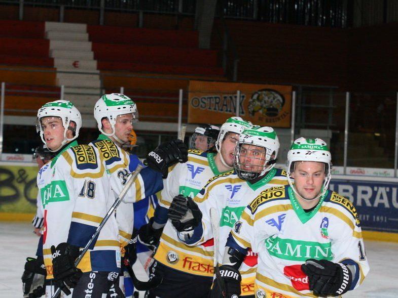 Der HC Samina Rankweil gewinnt gegen Schlusslicht Rheintal erst in der Verlängerung mit 3:2.