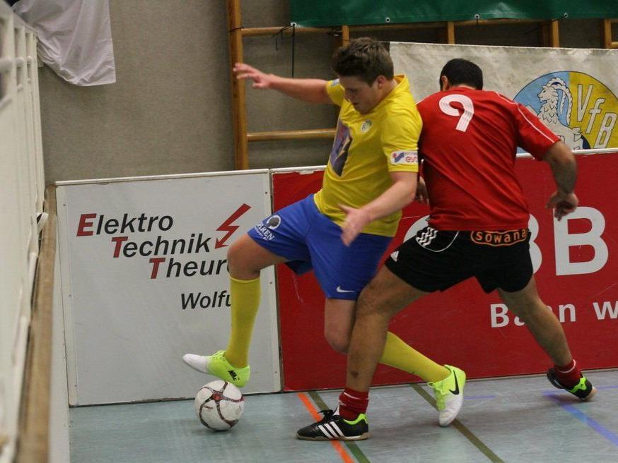 In der Sporthalle Herrenried sind viele starke Vorarlberger Amateurklubs zu bewundern.