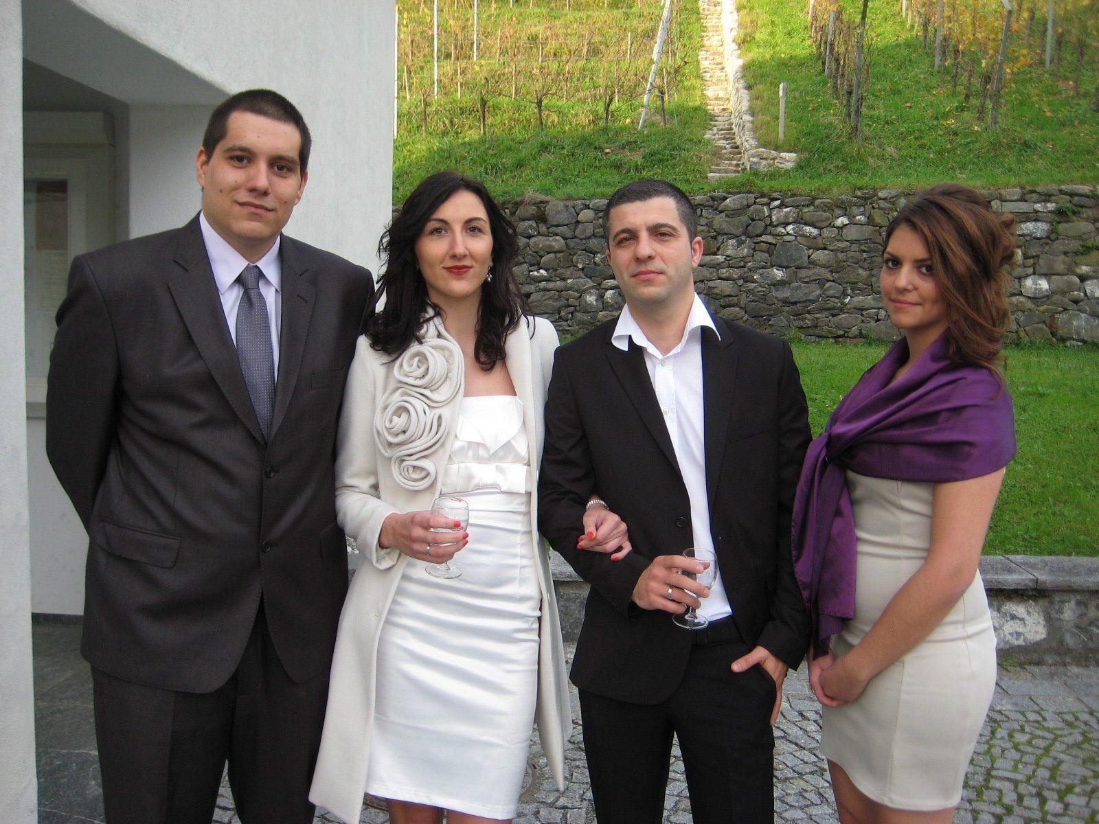 Vukica Jankovic und Ivan Andjelkovic haben geheiratet.