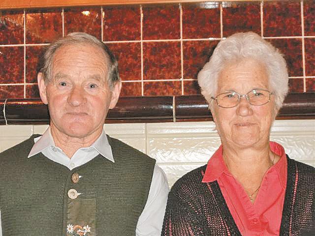 Hannelore und alfred Lerch feiern am 9. November ihre Goldhochzeit.