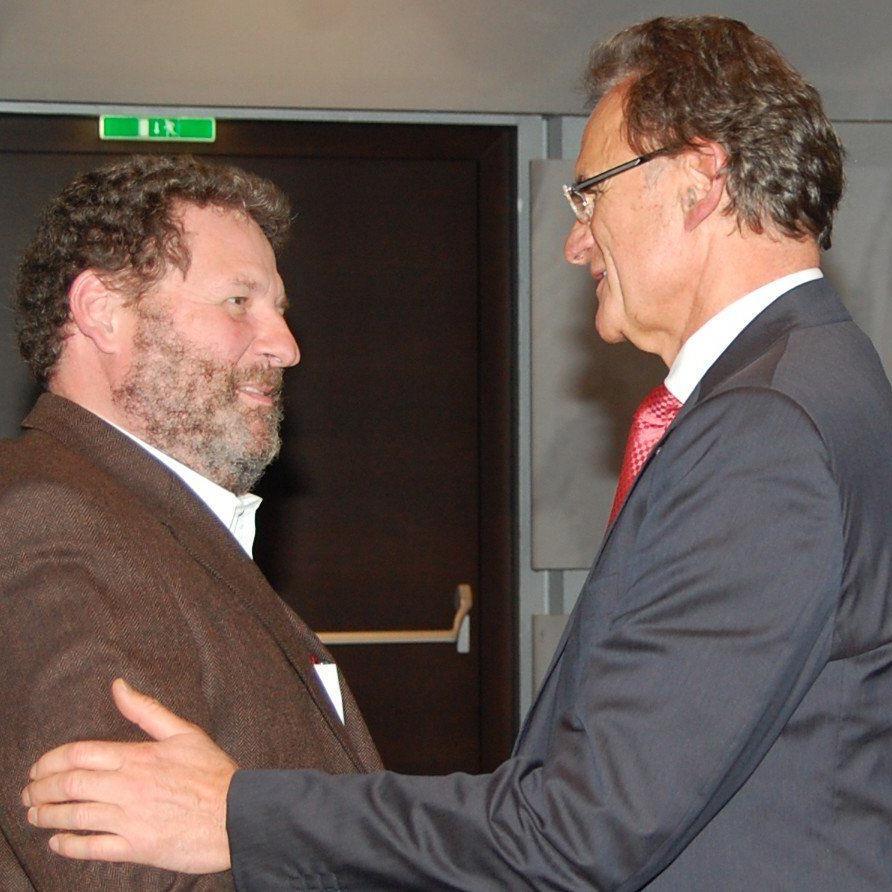 Josef Rupp mit WKV-Präsident Manfred Rein.