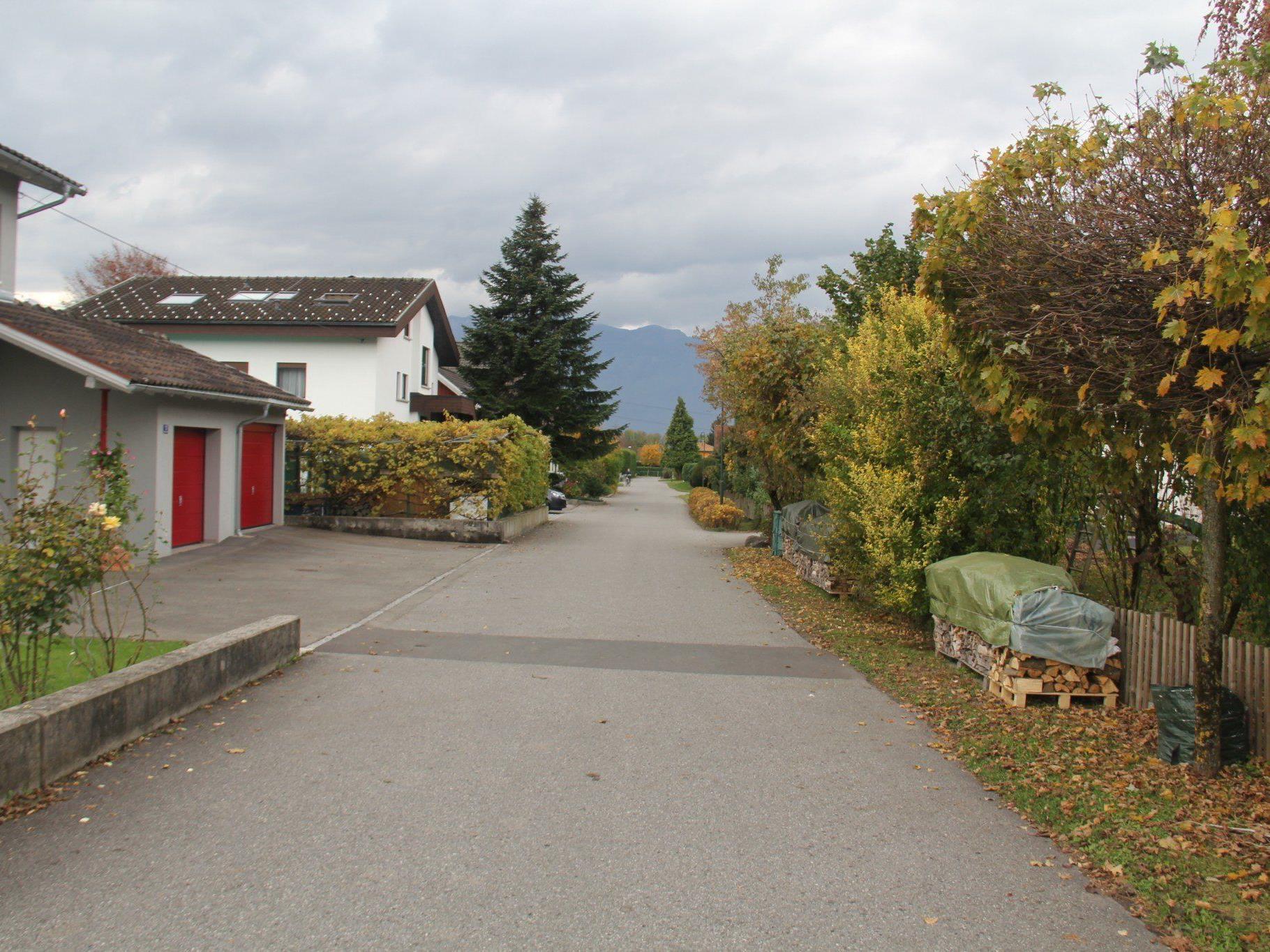 VOL.AT stellt die Straßen Vorarlbergs in einer großen Serie vor. - Im Bild der Sigibertweg.