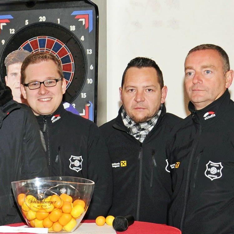 Obmann Christian Skarlatos, Kassier Christoph Rosemann, Vize Othmar Dörflinger und Schriftführer Michael Faast