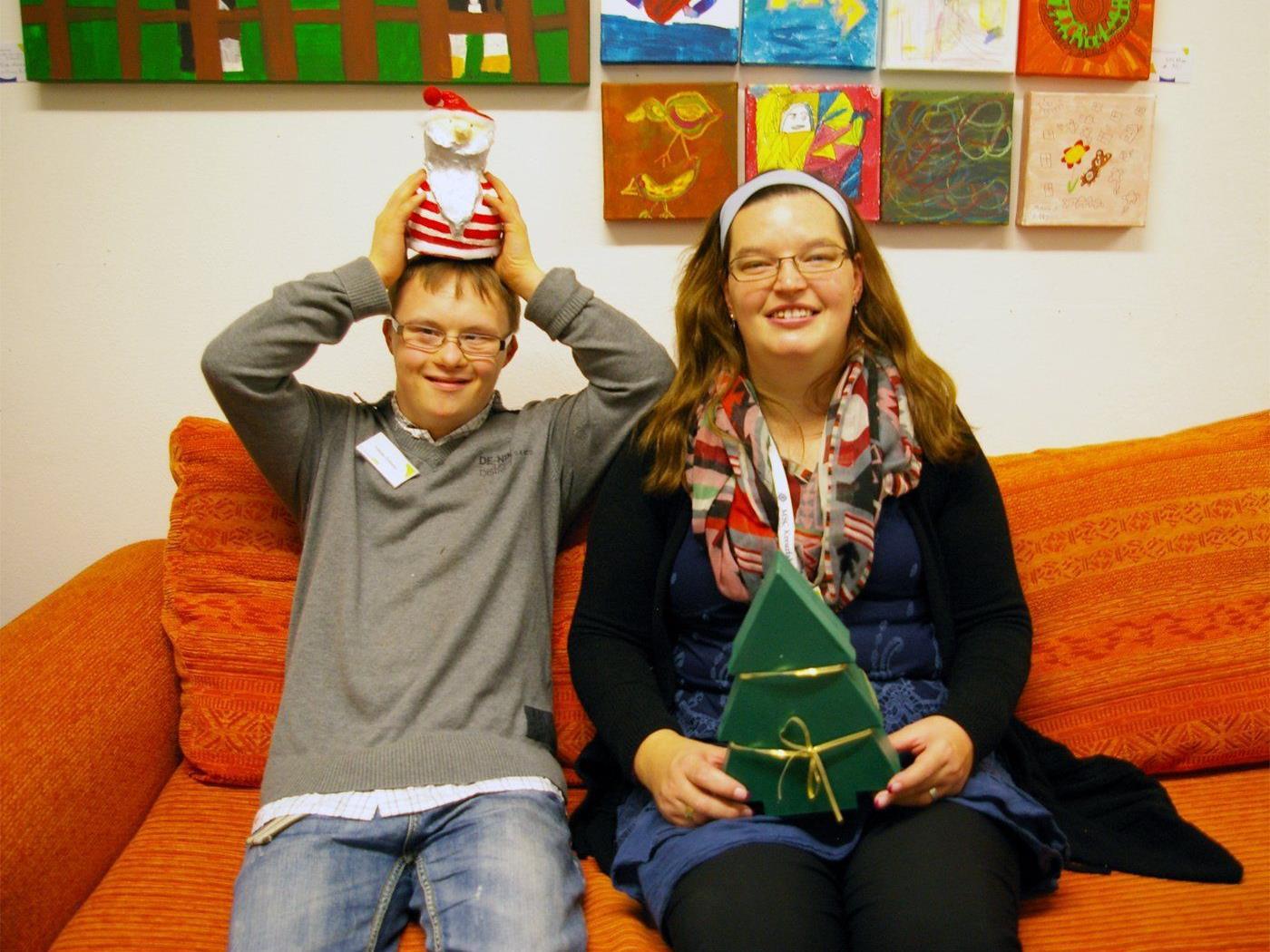 Weihnachtsausstellung.jpg: In den Brockenhäusern der Lebenshilfe Vorarlberg herrscht bereits Weihnachtsstimmung