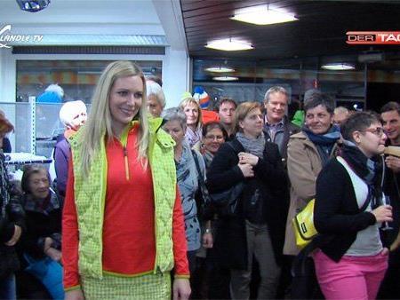 Tolle Modeschau bei der Hausmesse von Sport und Mode Wilhelmer in Vandans.
