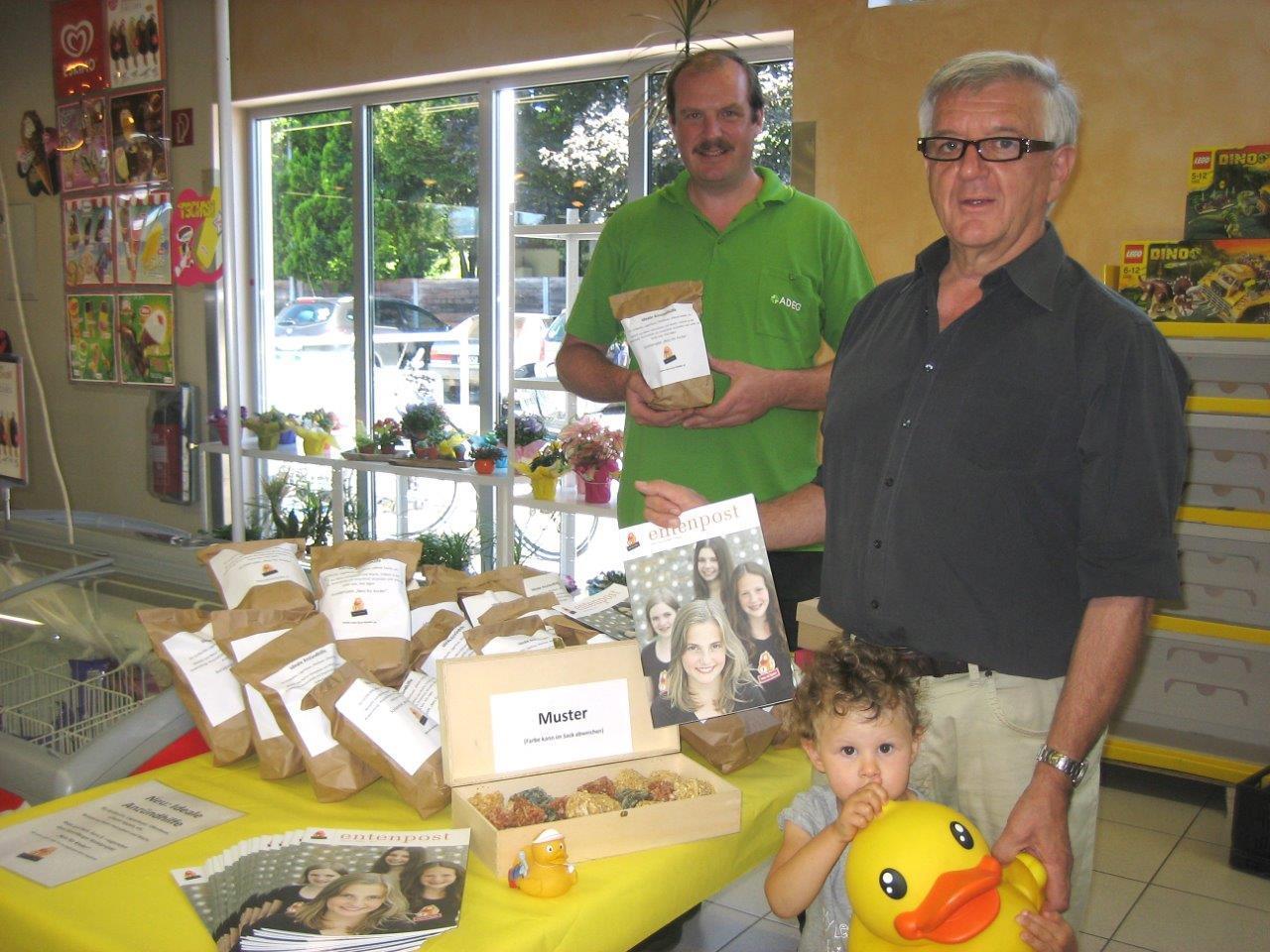 Für das Projekt Netz für Kinder gibt es in Rankweil ein neues Verkaufsprodukt.