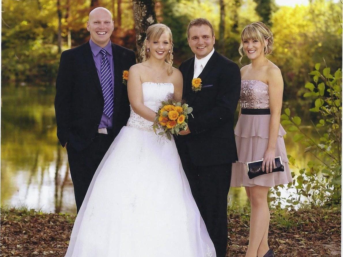 Katharina Rauter und Markus Burtscher haben geheiratet.