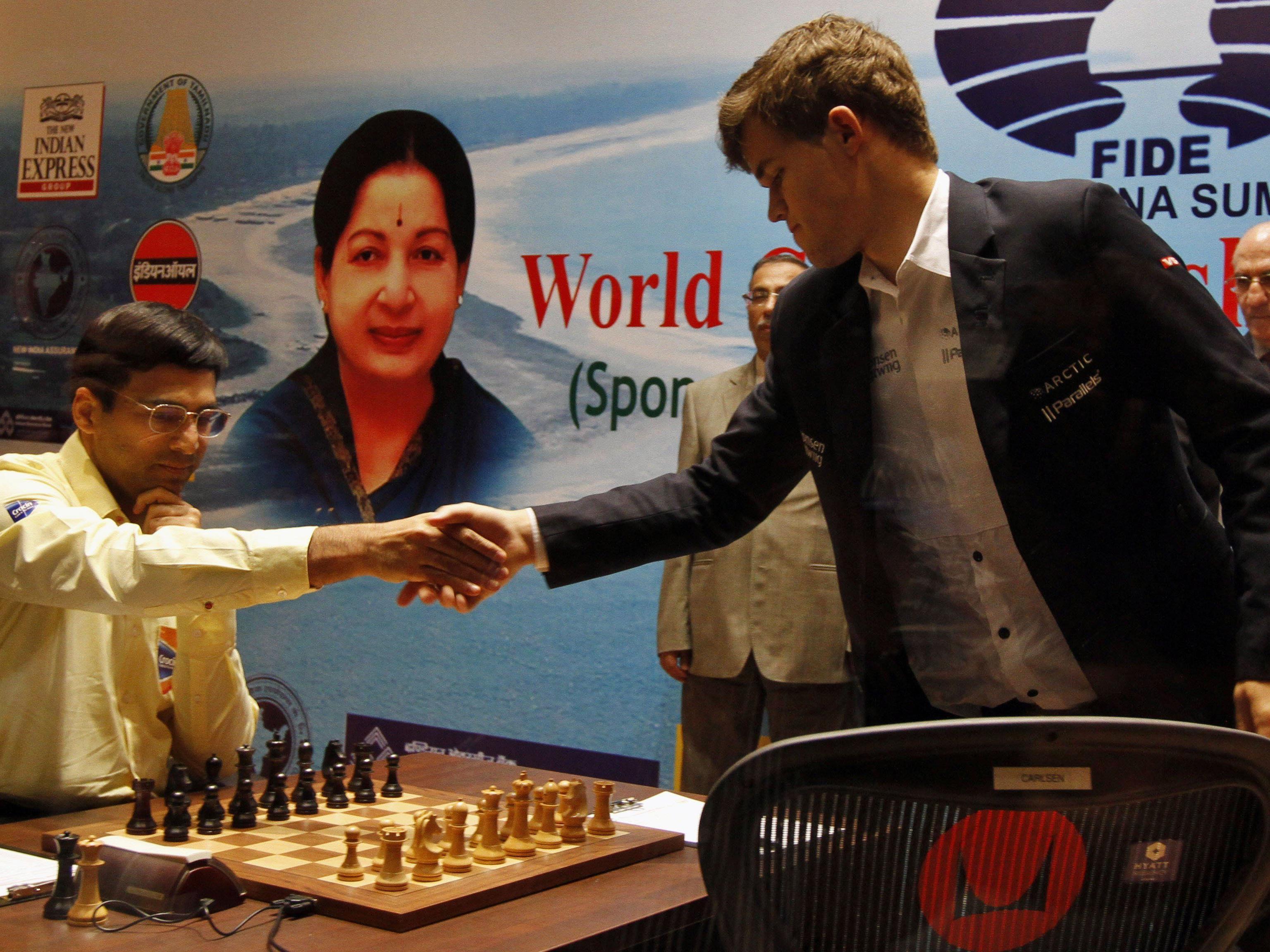 Mozart schlug Tiger: Magnus Carlsen ist neuer Carlsen ist neuer Schach-Weltmeister