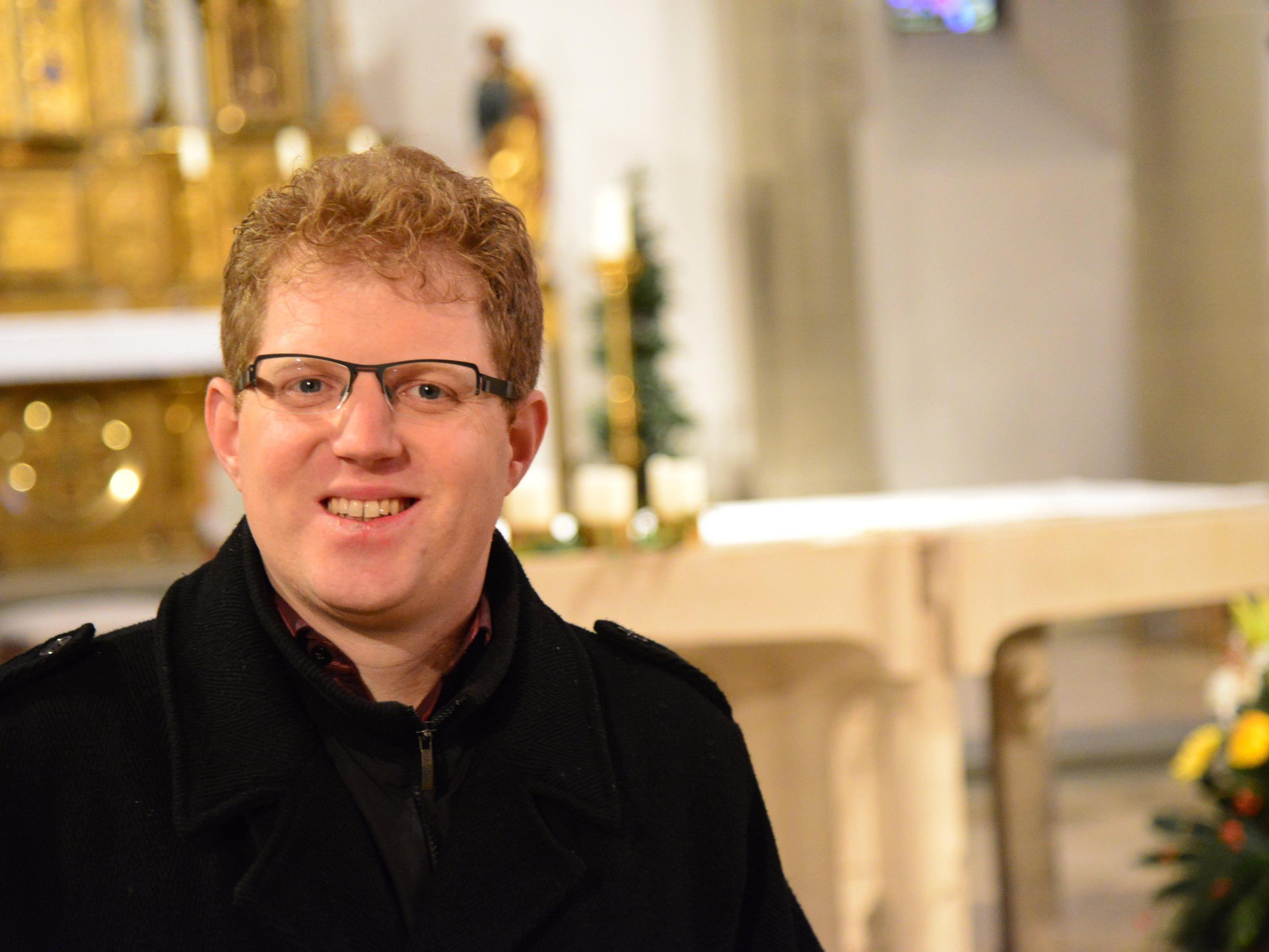 Priesterweihe Fabian Jochum am Samstag, 23. November, 9.30 Uhr, Dom St. Nikolaus, Feldkirch.