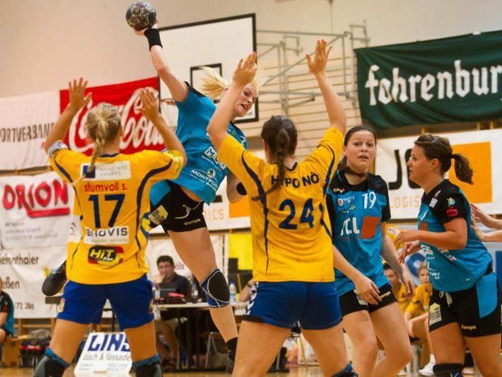 Feldkirchs Handballdamen stehen im Viertelfinale des österreichweiten Pokalbewerb.