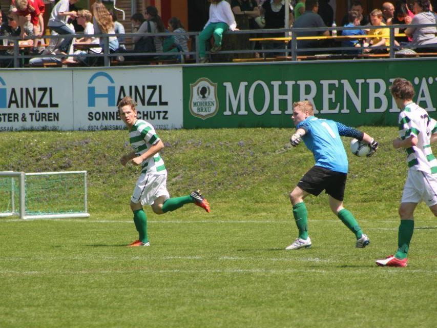Der SV Gaschurn gewinnt in Lochau mit 4:1