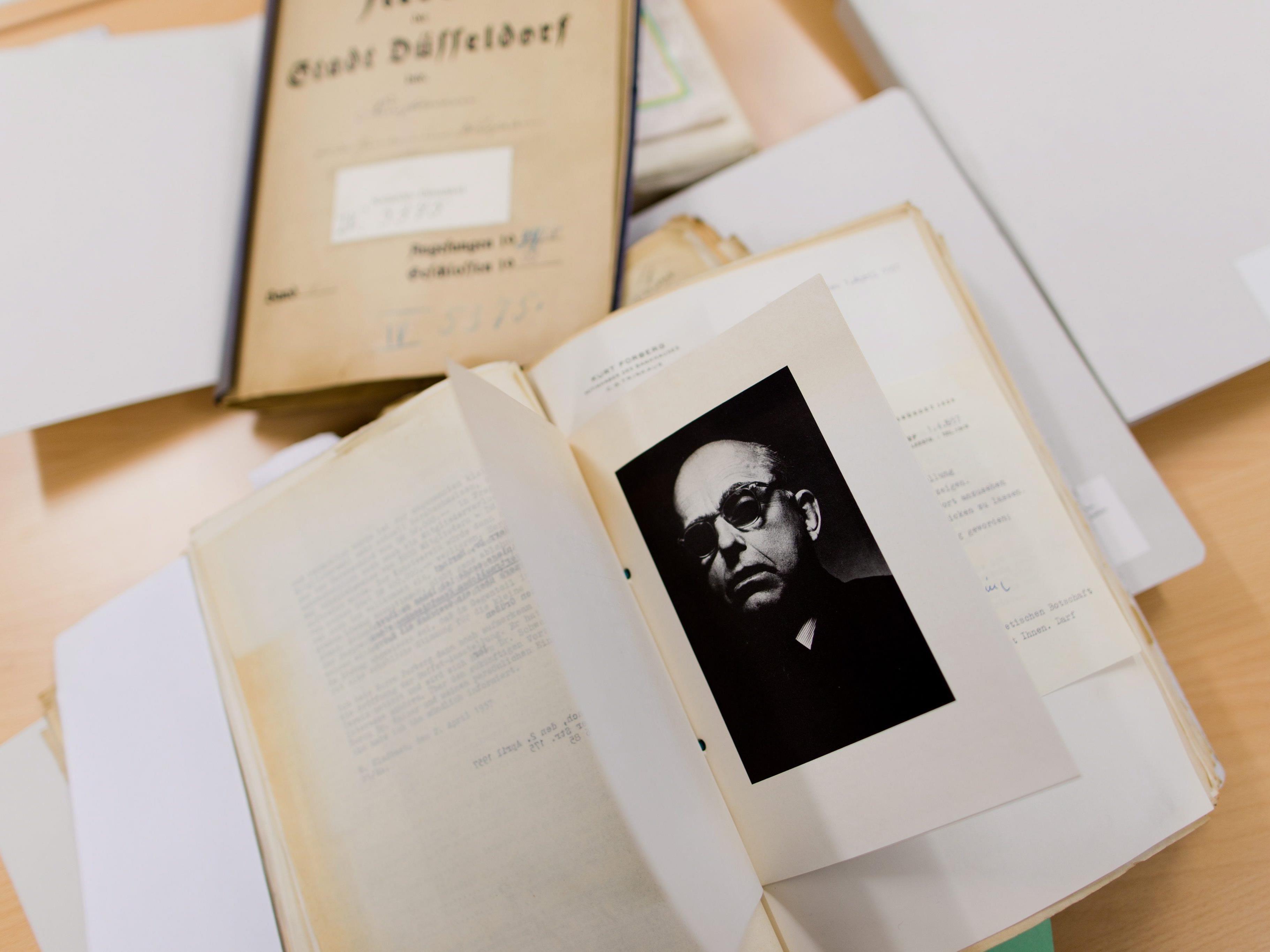 Das Düsseldorfer Stadtarchiv liefert Erkenntnisse über Hildebrand Gurlitt.