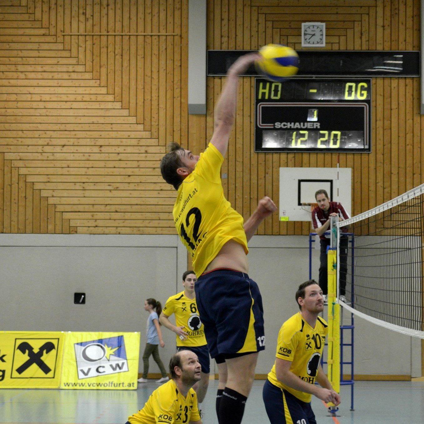 Sascha Mosig hofft mit dem VC Wolfurt im Heimspiel gegen Salzburg auf einen Sieg.