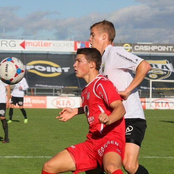 Christoph Domig erzielte mit einem sehenswerten Direktschuss das 1:0 für Dornbirn.