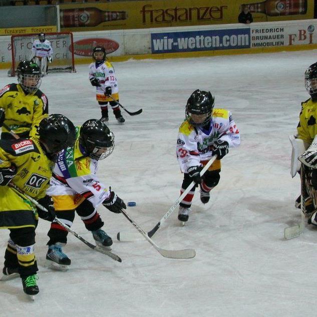 Die beiden Nachwuchsteams der VEU Feldkirch und EHC Lustenau boten Eishockey mit viel Herz.