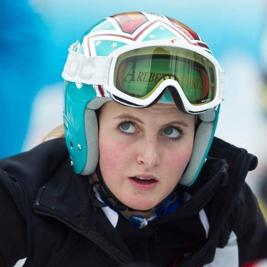 Die erst 17-jährige Nina Ortlieb wurde beim zweiten EC-Riesentorlauf in Levi sensationell Siebente.