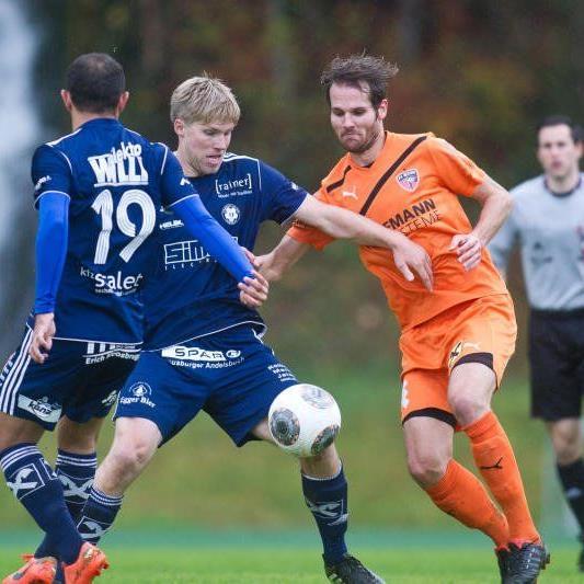 Bizau gewinnt im Elferschießen in Andelsbuch und steht im Viertelfinale des VFV Cup.