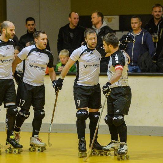 Klarer 7:0-Derbyerfolg für den RHC Dornbirn gegen RHC Wolfurt.