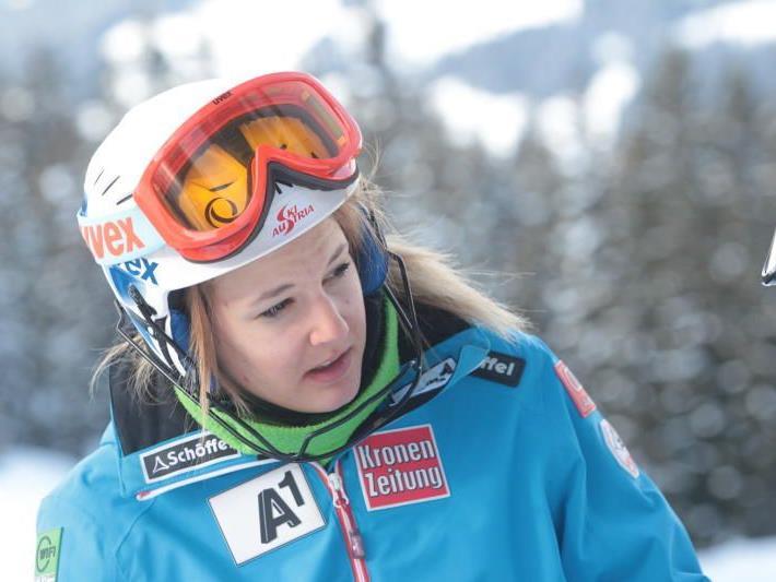 Die junge Bezauerin Elisabeth Kappaurer hofft auf die Fortsetzung des sportlichen Höhenflug.