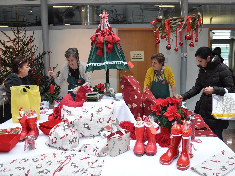 Neben dem Weihnachtsmärktle am Samstag wird auch ein Flohmarkt veranstaltet.