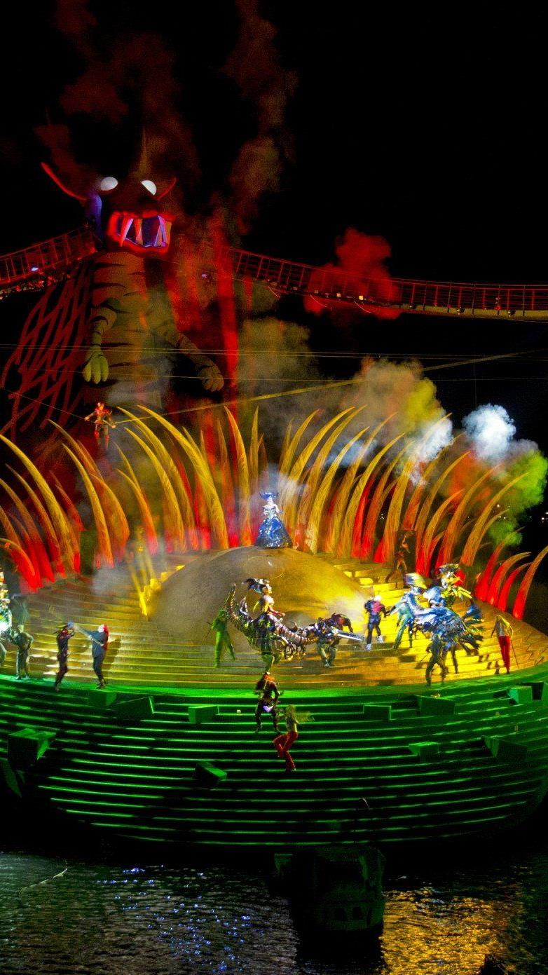 """So erfolgreich, dass zwei Zusatzvorstellungen angesetzt werden: Mozarts """"Zauberflöte"""" auf der Seebühne."""