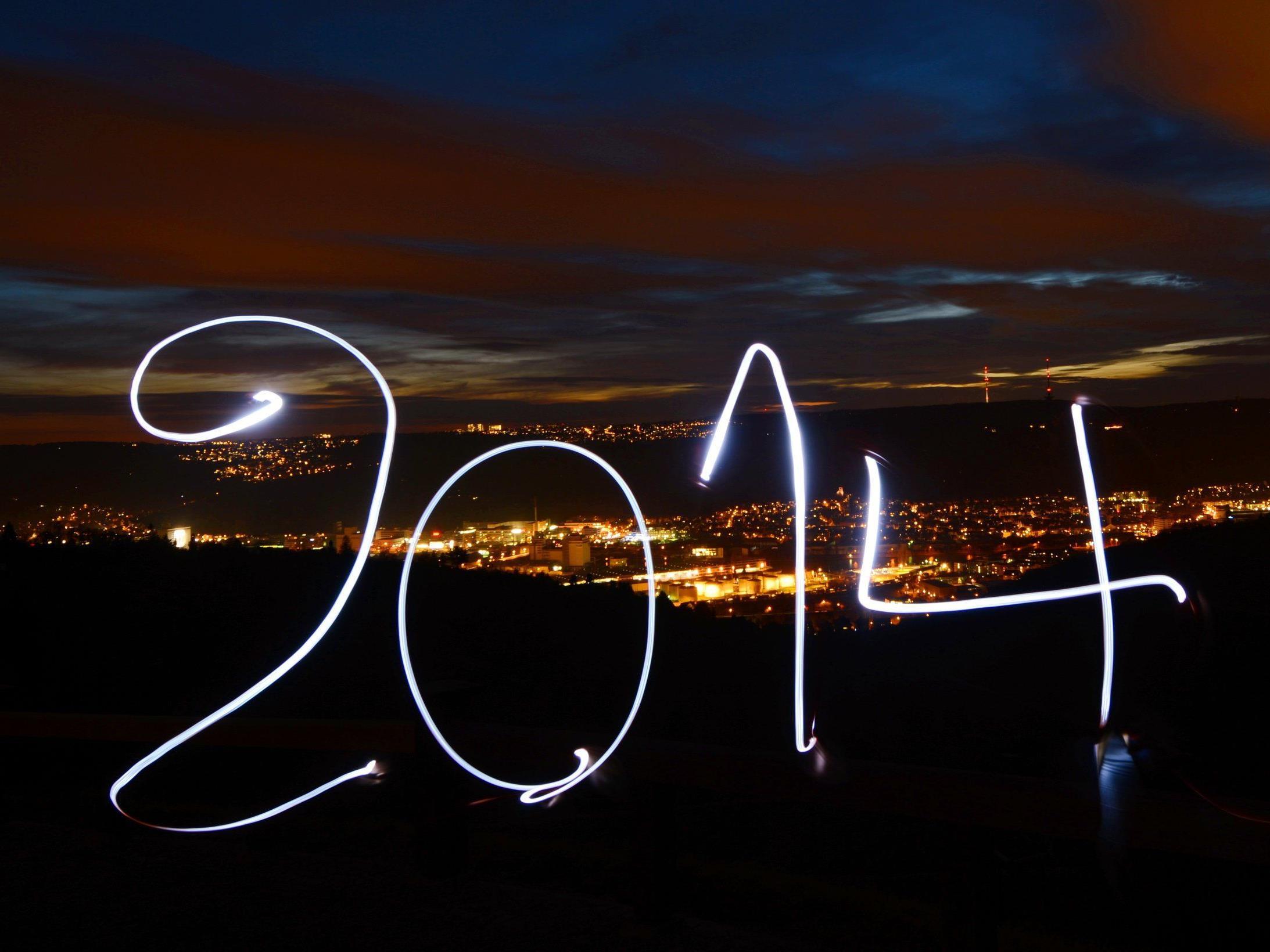 Die ganze Welt feiert das neue Jahr.