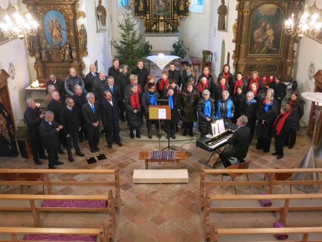 Adventkonzert des Liederhort Tosters in St. Corneli