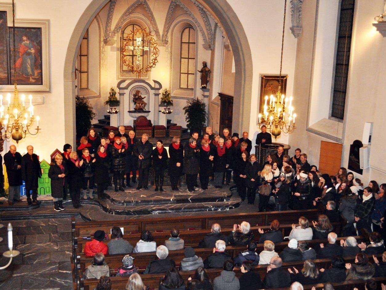 Das Adventsingen in der Basilika kommt der Vorarlberger Krebshilfe zugute.