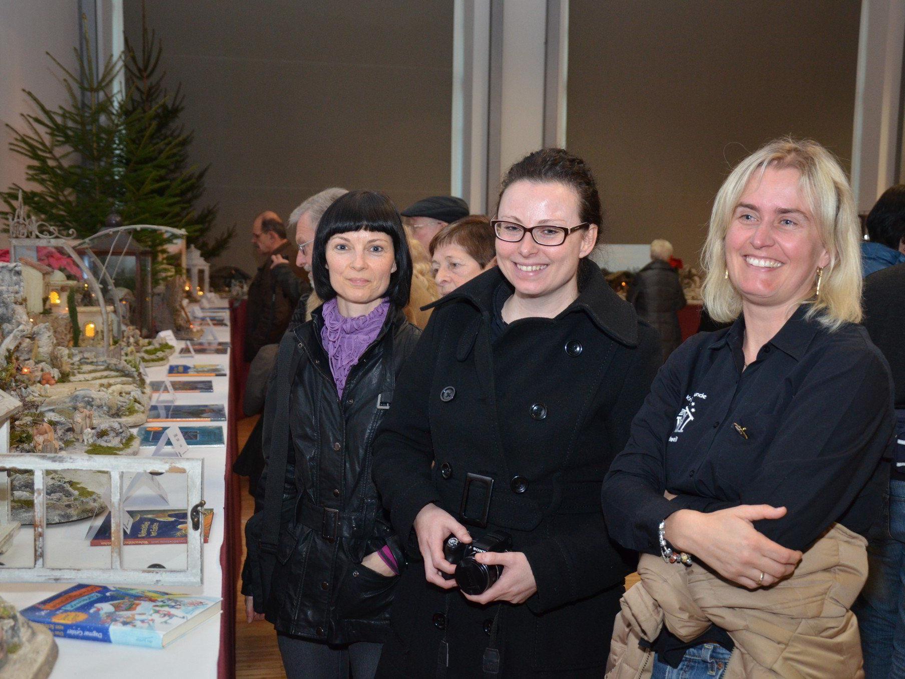 Viele Krippenfreunde aus dem ganzen Land kamen zur traditionellen Ausstellung nach Rankweil.
