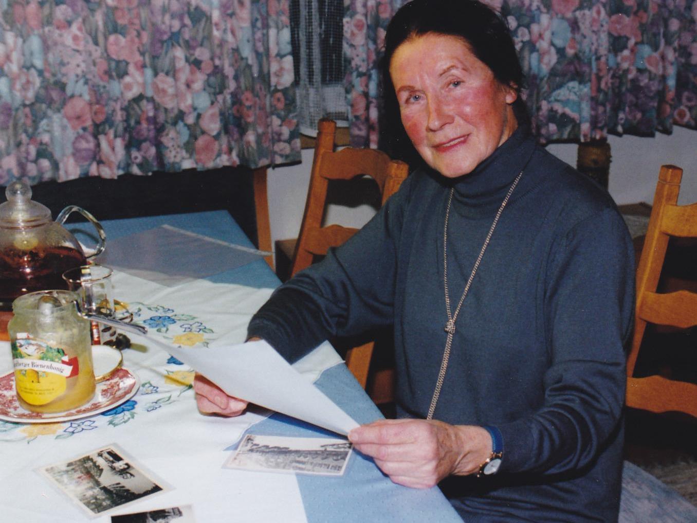 Franziska Gorbach war die letzte Lebend-Geborgene nach dem Bombenabwurf auf Feldkirch.