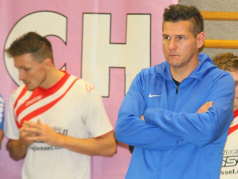 FC Lustenau-Coach Christian Köll kann drei neue Spieler in seinem Team begrüßen.