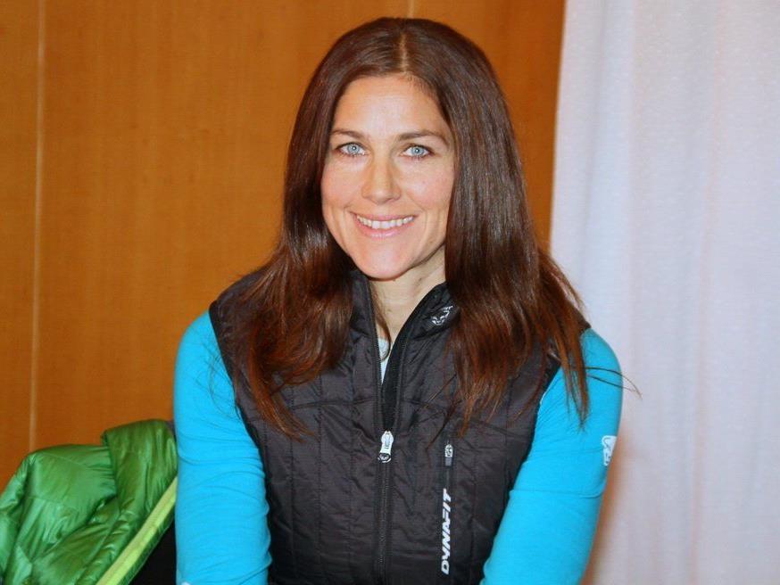 Die Vizestaatsmeisterin Michaela Feurle aus Dornbirn wurde zum Auftakt starke Zweite.