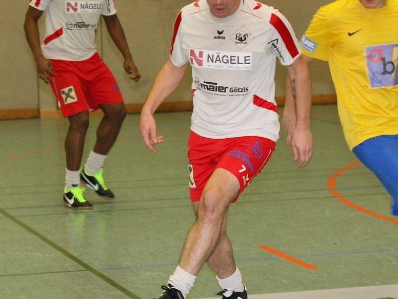 Rankweil-Oldie Markus Fritsche gelang mit seiner Truppe der Aufstieg ins Halbfinale.