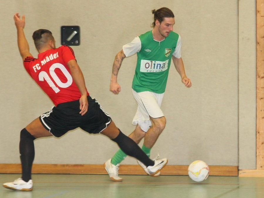Austria Lustenau Kaderspieler Patrick Salamon brillierte zusammen mit Thiago de Lima in Wolfurt.
