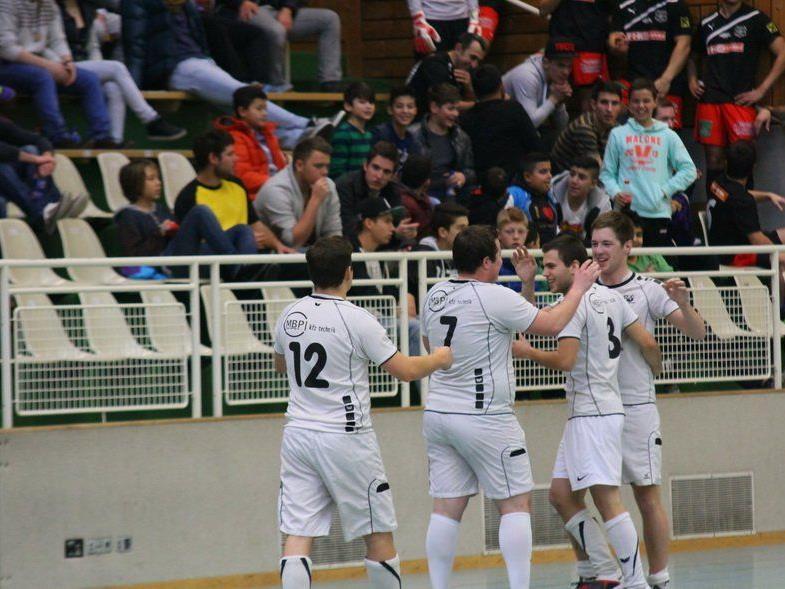 FC RW Rankweil 1b will auch in der Gruppenphase der Masters Vorrunde oft jubeln.