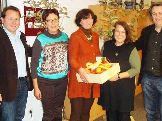 Karin Madlener wurde von den Gemeinden und der ARGE verabschiedet