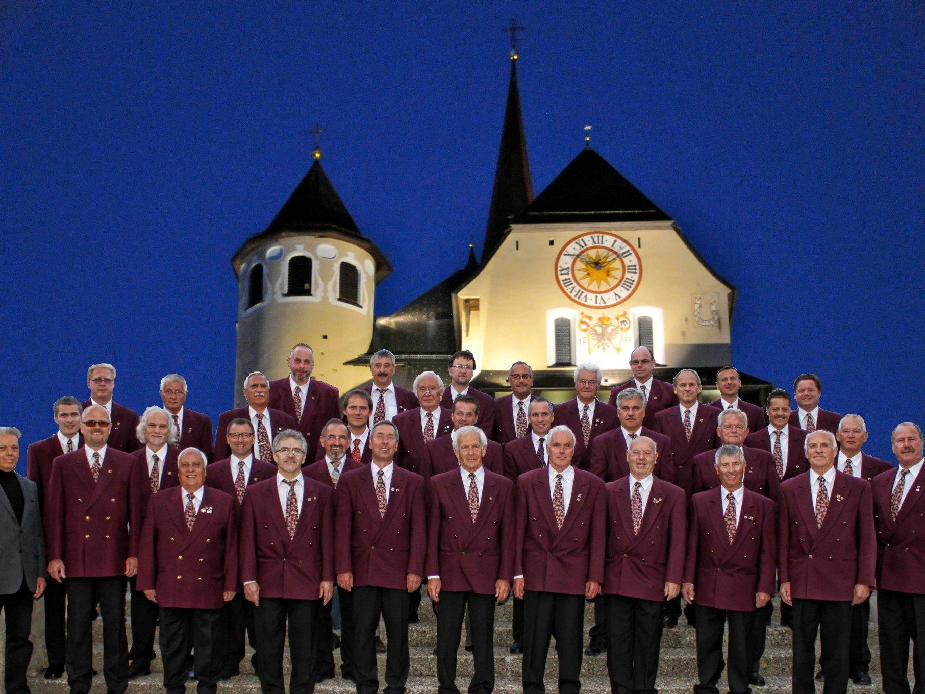 Der Männergesangsverein Liederkranz lädt zum Weihnachtskonzert in die Rankweiler Basilika.