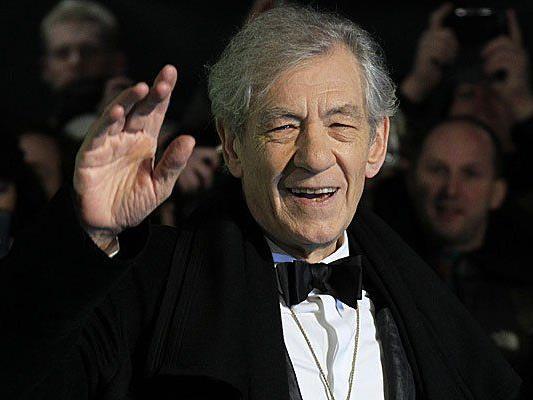 """Auf Anraten des britischen Außenministeriums fährt """"Gandalf"""" Ian McKellen nicht nach Russland."""