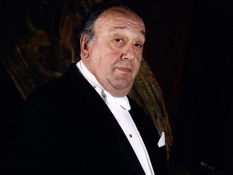 Maestro Nello Santi, weltberühmter Altmeister der italienischen Oper.