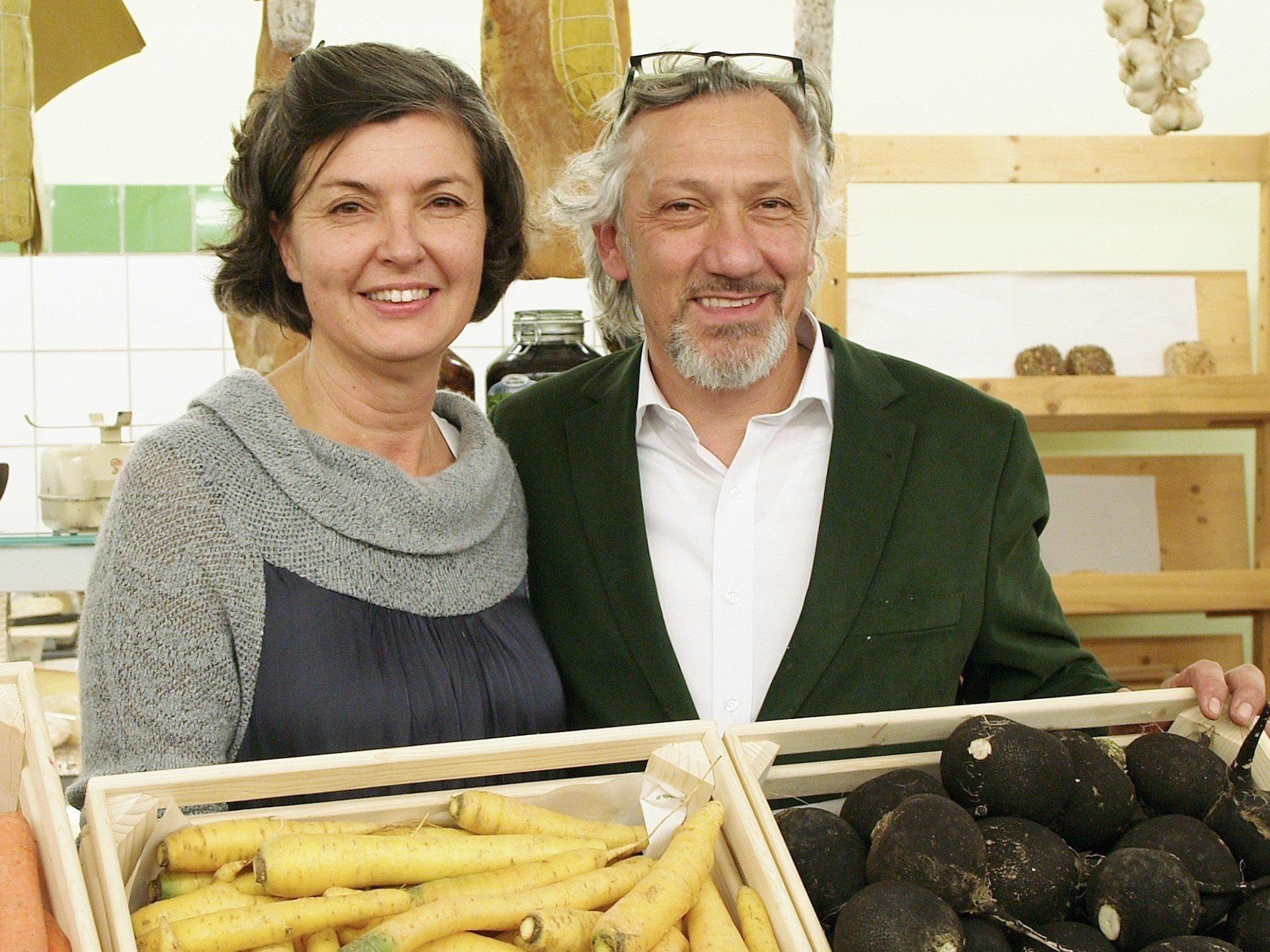 Eva Kössler und Roberto Petruzzi eröffneten ihren Bioladen.