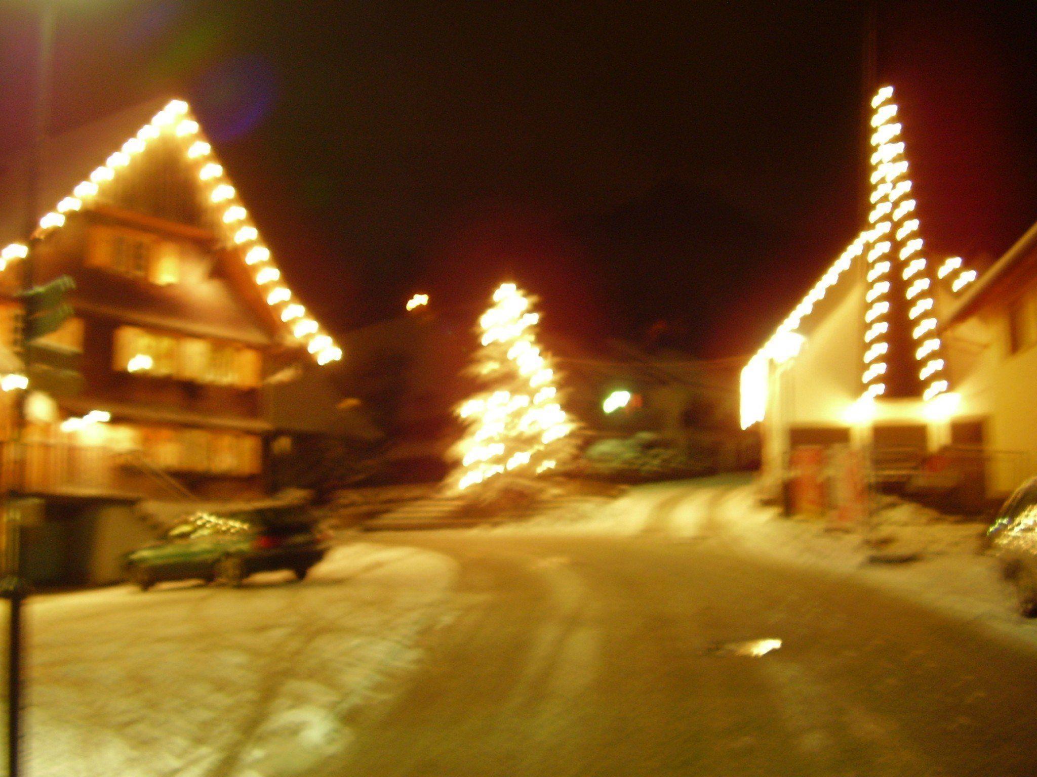 Dorfplatz in Mühlebach