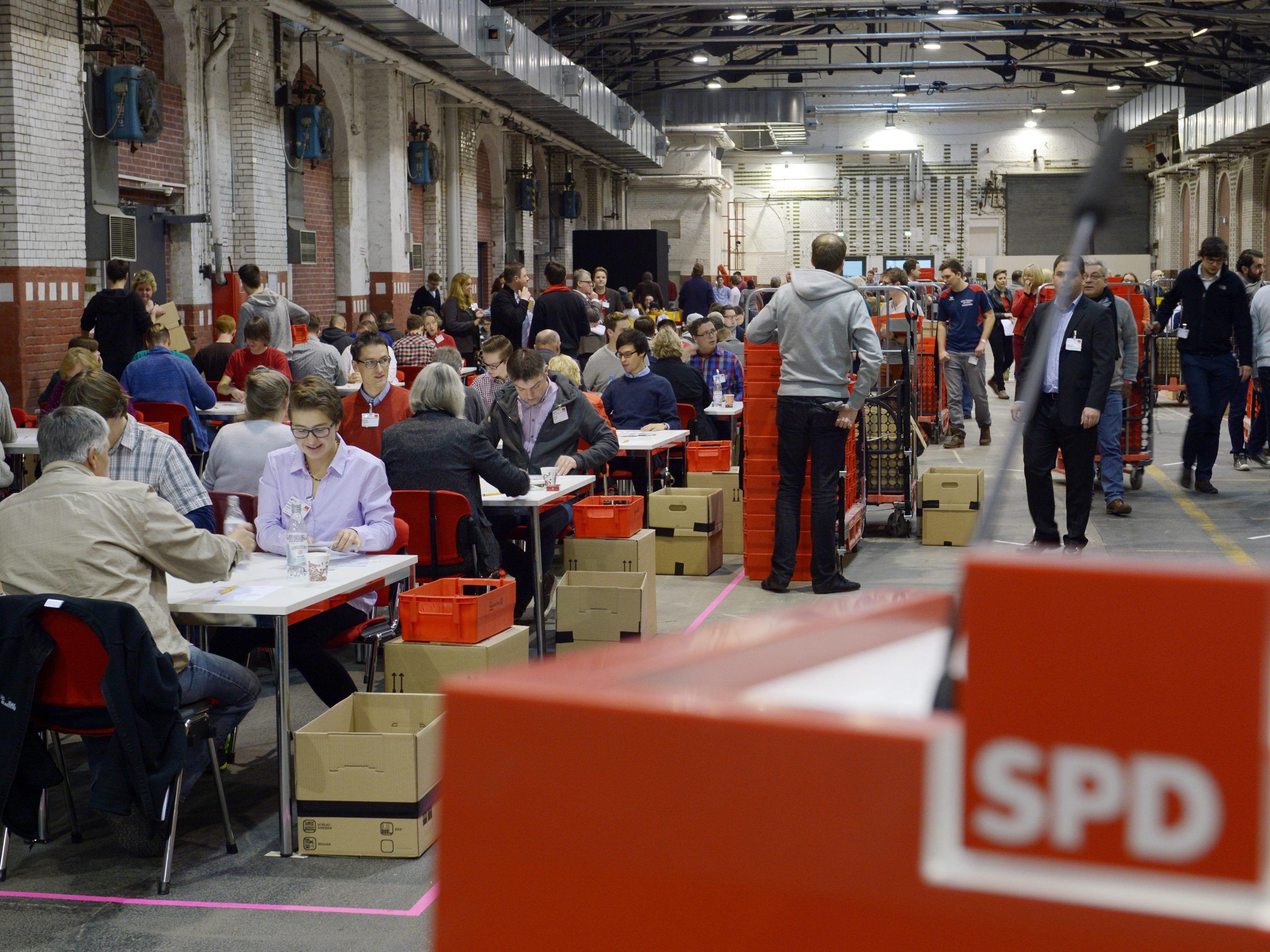 75,96 Prozent der Parteimitglieder votierten mit Ja
