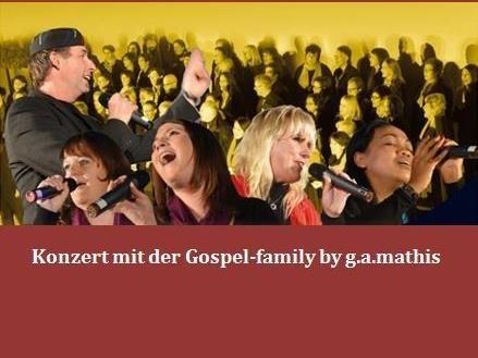 Die Gospel-family ist wieder unterwegs mit Gospelsongs aus der ganzen Welt.